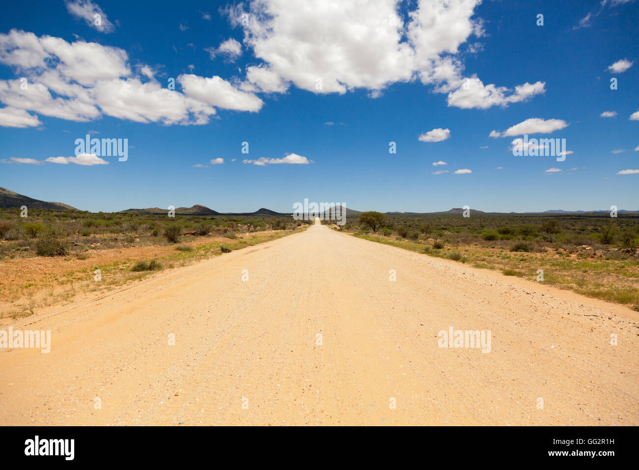 Namibia Highway C2, East of Rehoboth - Stock Image