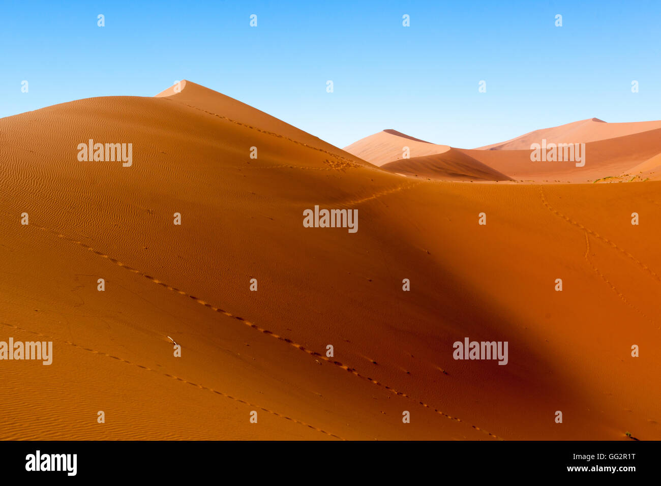 Sossusvlei Namibia Sand dunes - Stock Image