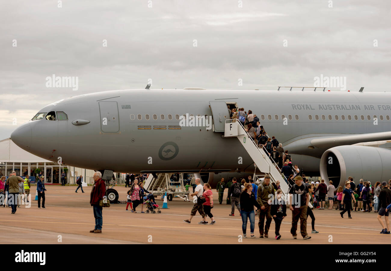 Royal Australian Air Force - A330-200MRTT 001 at the Royal International air Tattoo 2016 - Stock Image