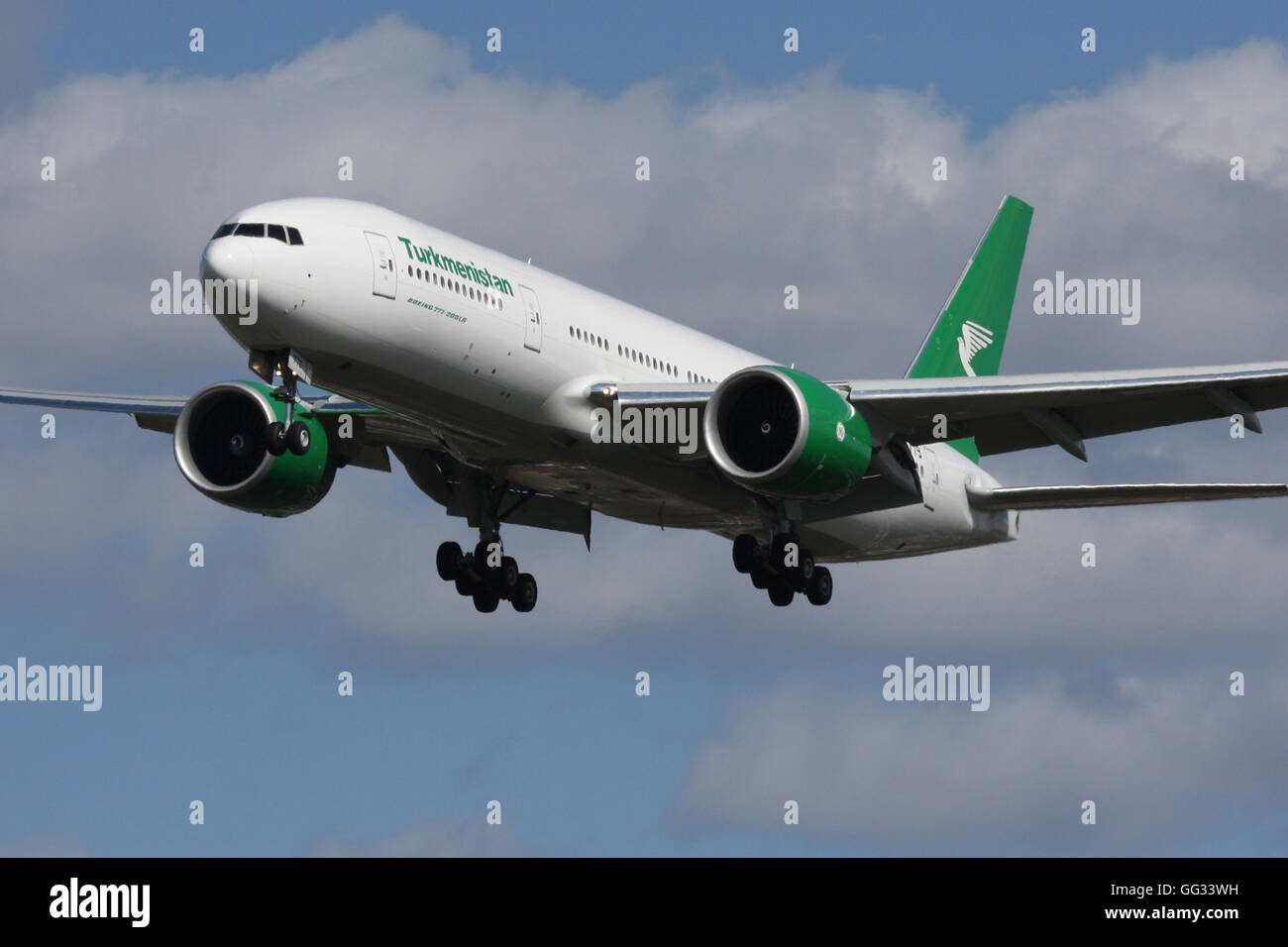 TURKMENISTAN 777 - Stock Image