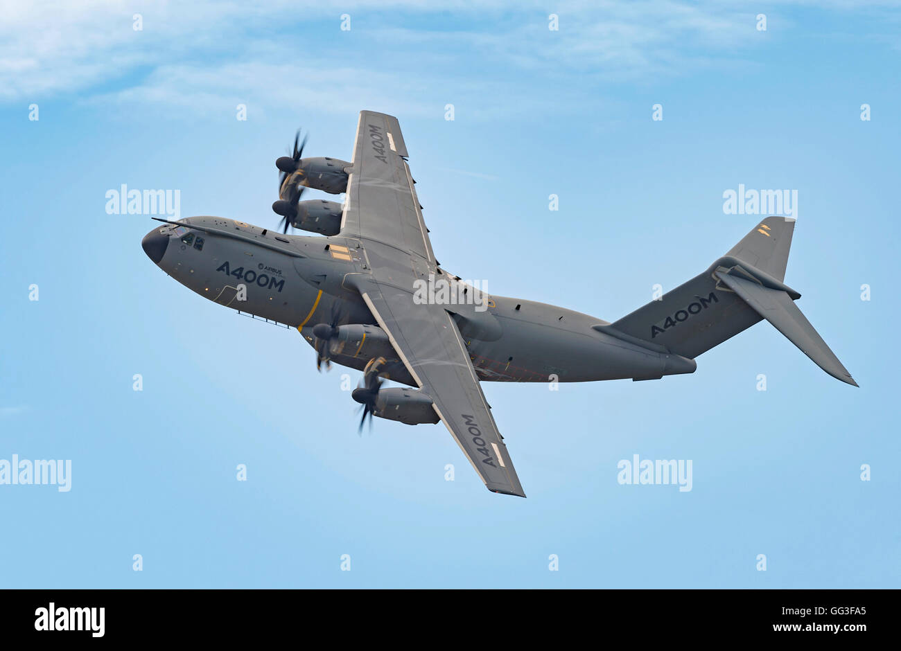 Airbus A400m, EC-406, Toulouse, France, at the Royal International Tattoo 2016 - Stock Image