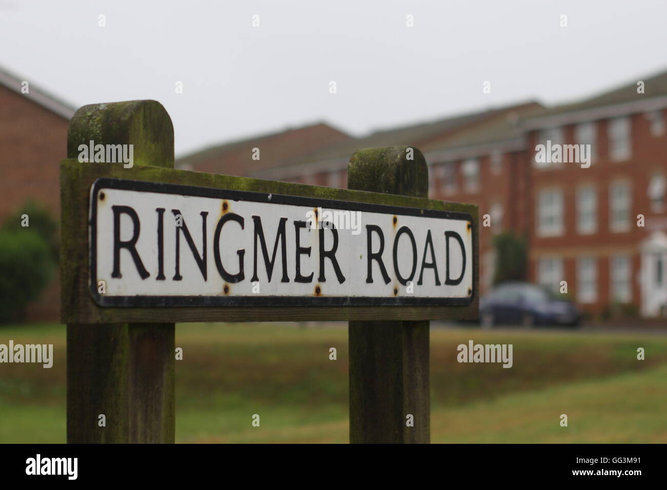 Road name sign - Stock Image