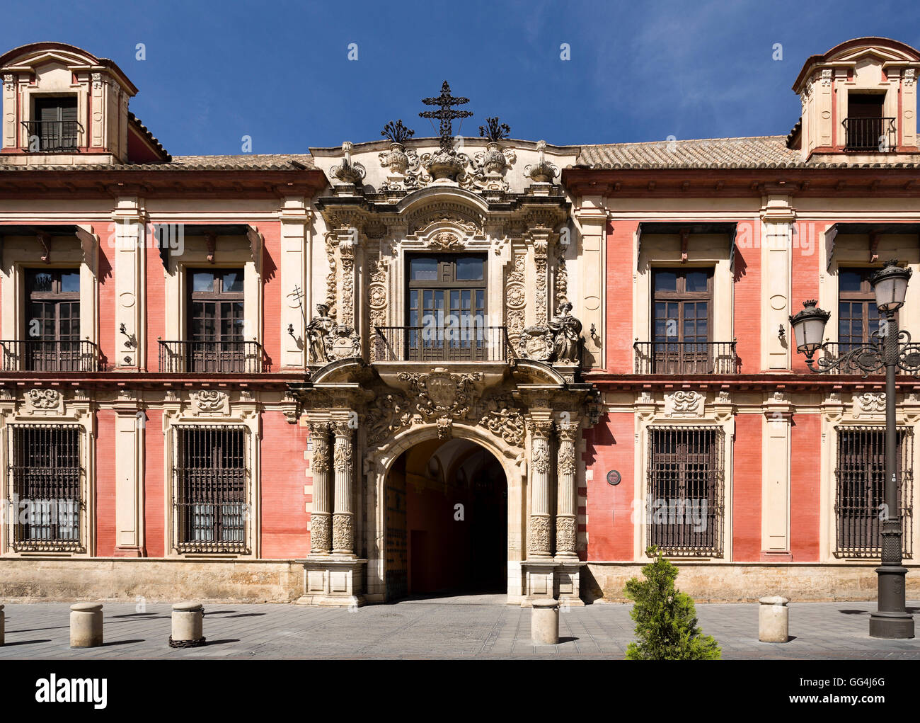 facade of the spanish baroque architectural style archbishop palace