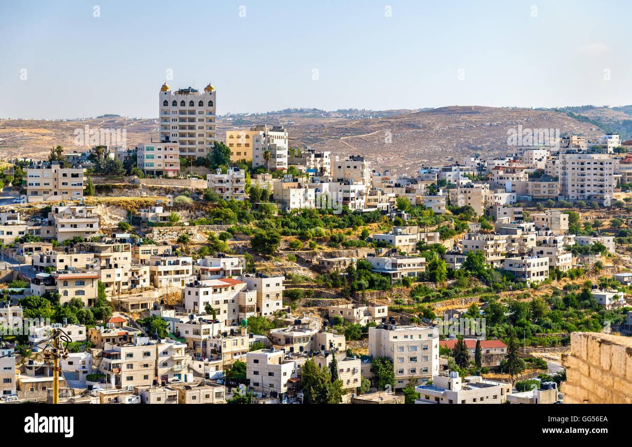 View of Bethlehem - Palestine - Stock Image