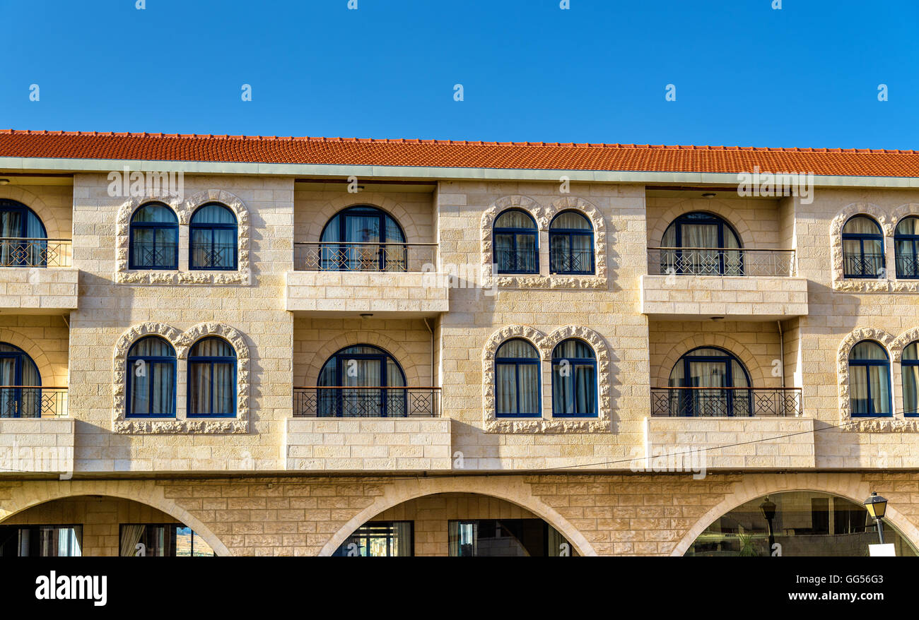 Buildings in the city centre of Bethlehem - Stock Image