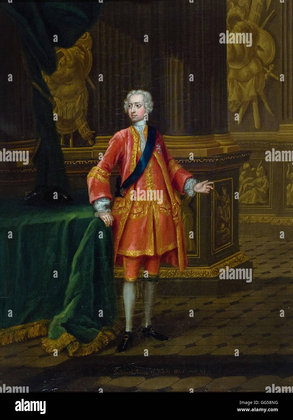Charles Philips - Frederick, Prince of Wales - Stock Image