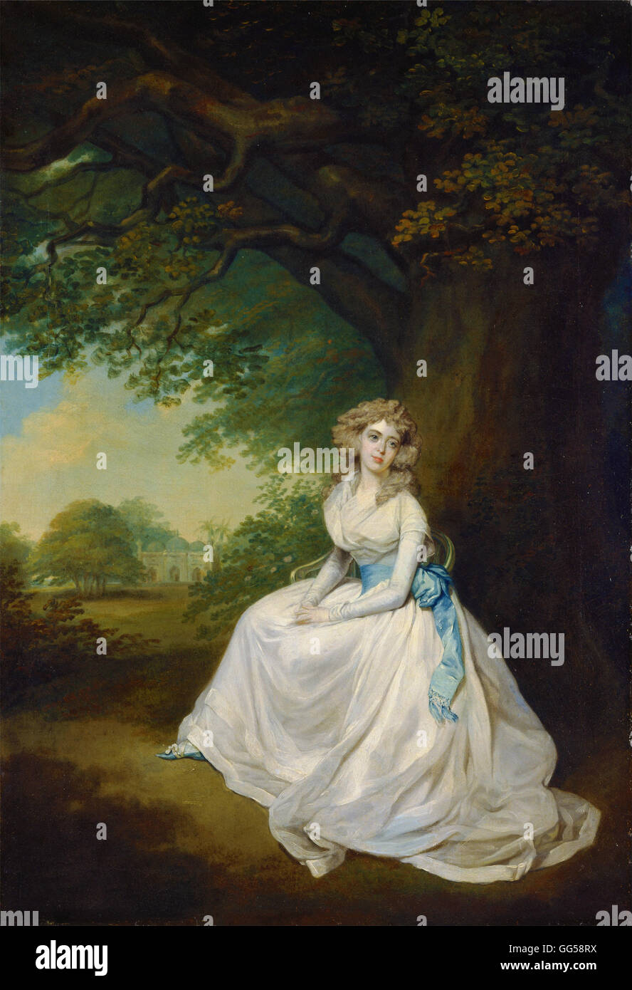 Arthur William Devis - Lady Chambers - Stock Image