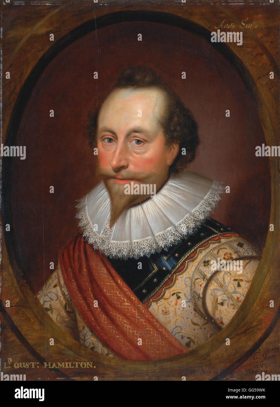 Cornelius Johnson - Sir Alexander Temple - Stock Image