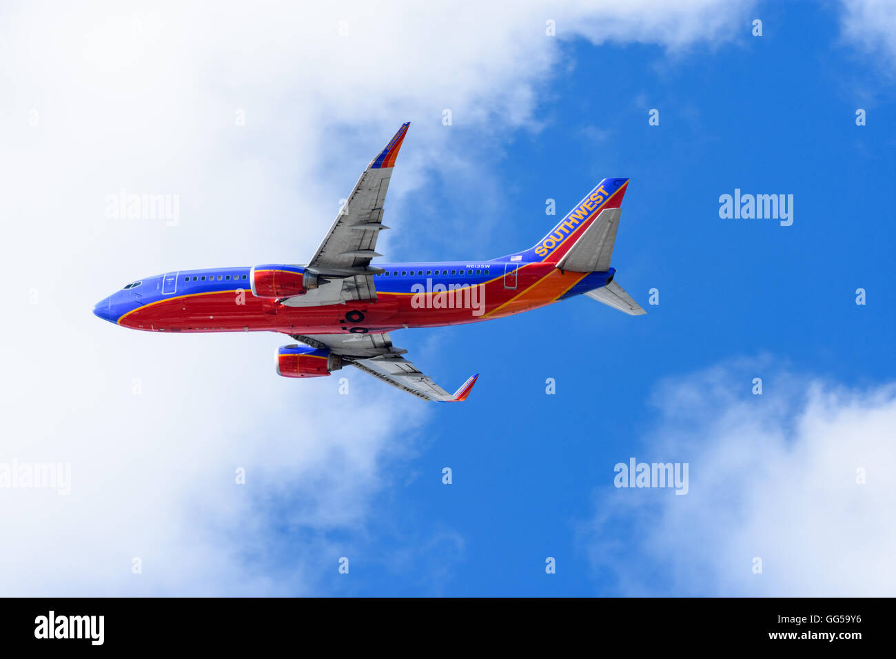 13bbe8b5bcb8 Southwest Airlines Stock Photos   Southwest Airlines Stock Images ...