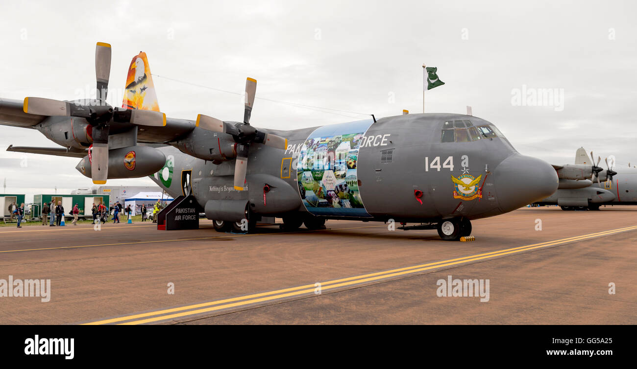 C 130E Hercules 144 Pakistan Air Force at the Royal