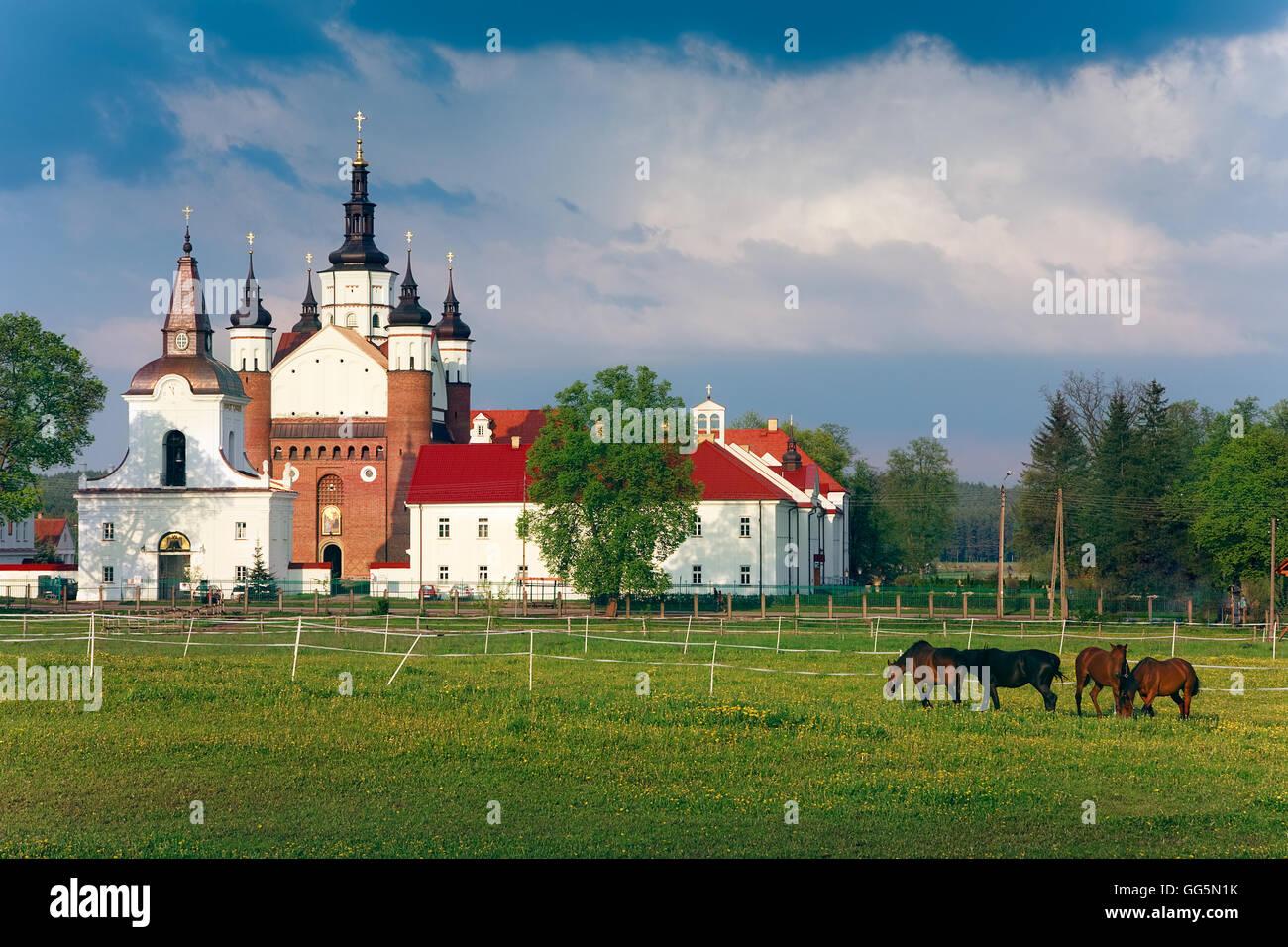 Suprasl orthodox monastery Stock Photo