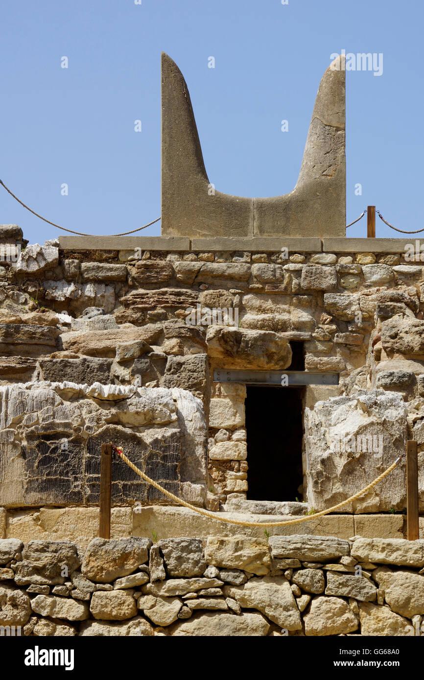 Knossos, Crete - Stock Image