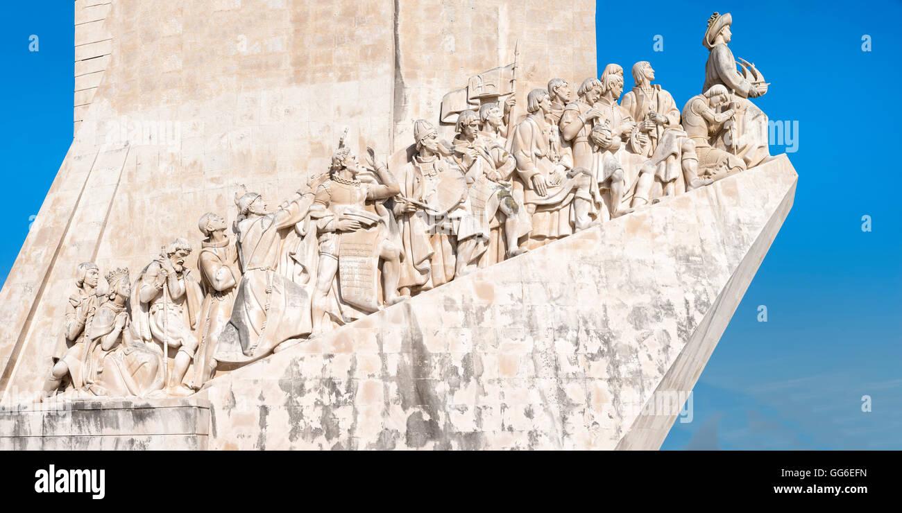 Padrao dos Descobrimentos (Monument to the Discoveries), Belem, Lisbon, Portugal, Europe - Stock Image