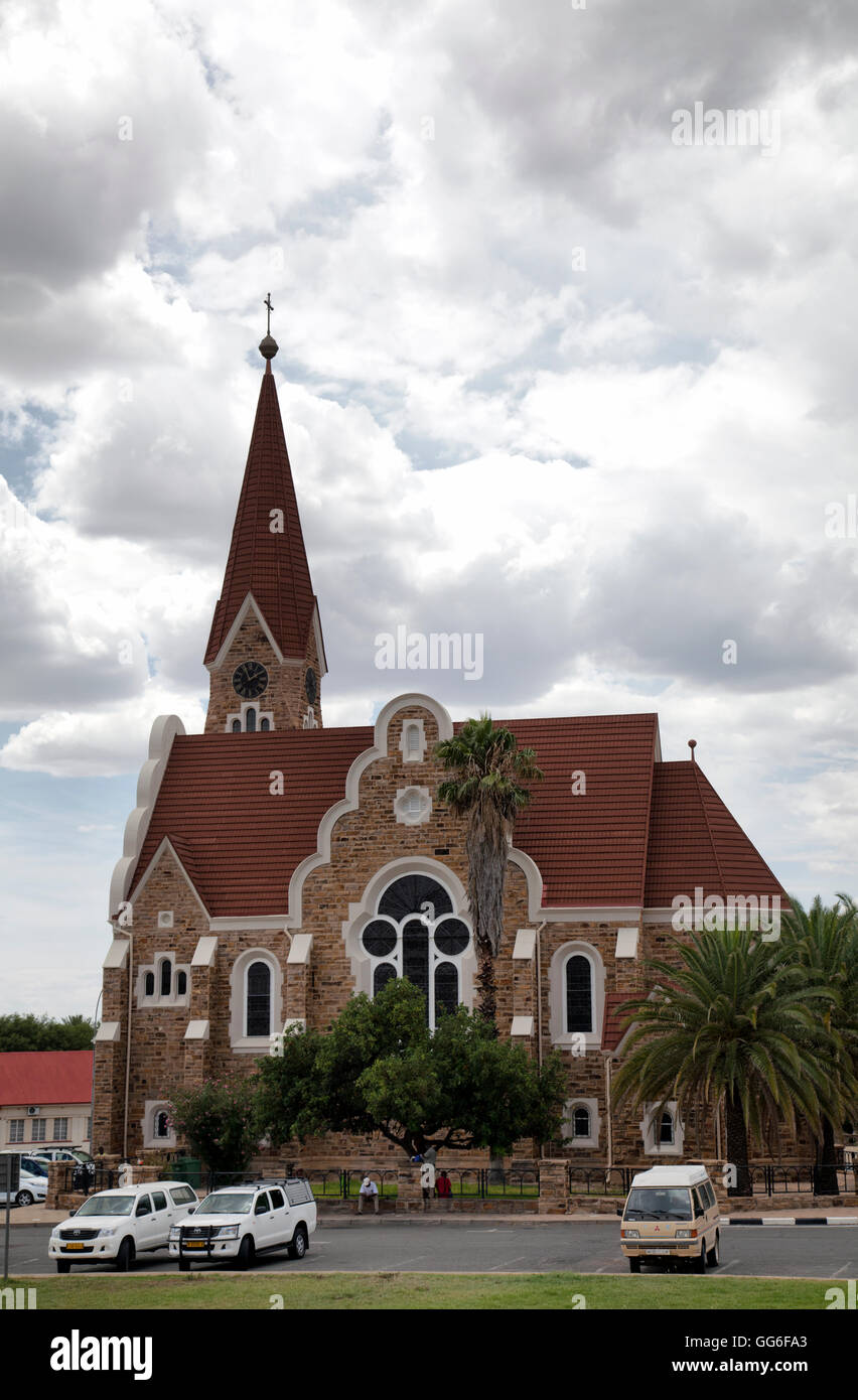 Christus Kirche in Windhoek in Namibia Stock Photo