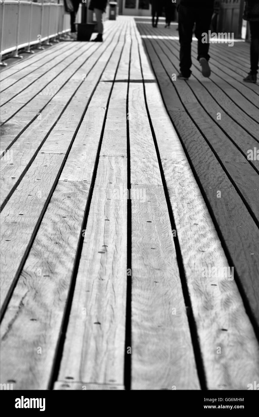 Boscombe Pier  in Bournemouth, UK - Stock Image
