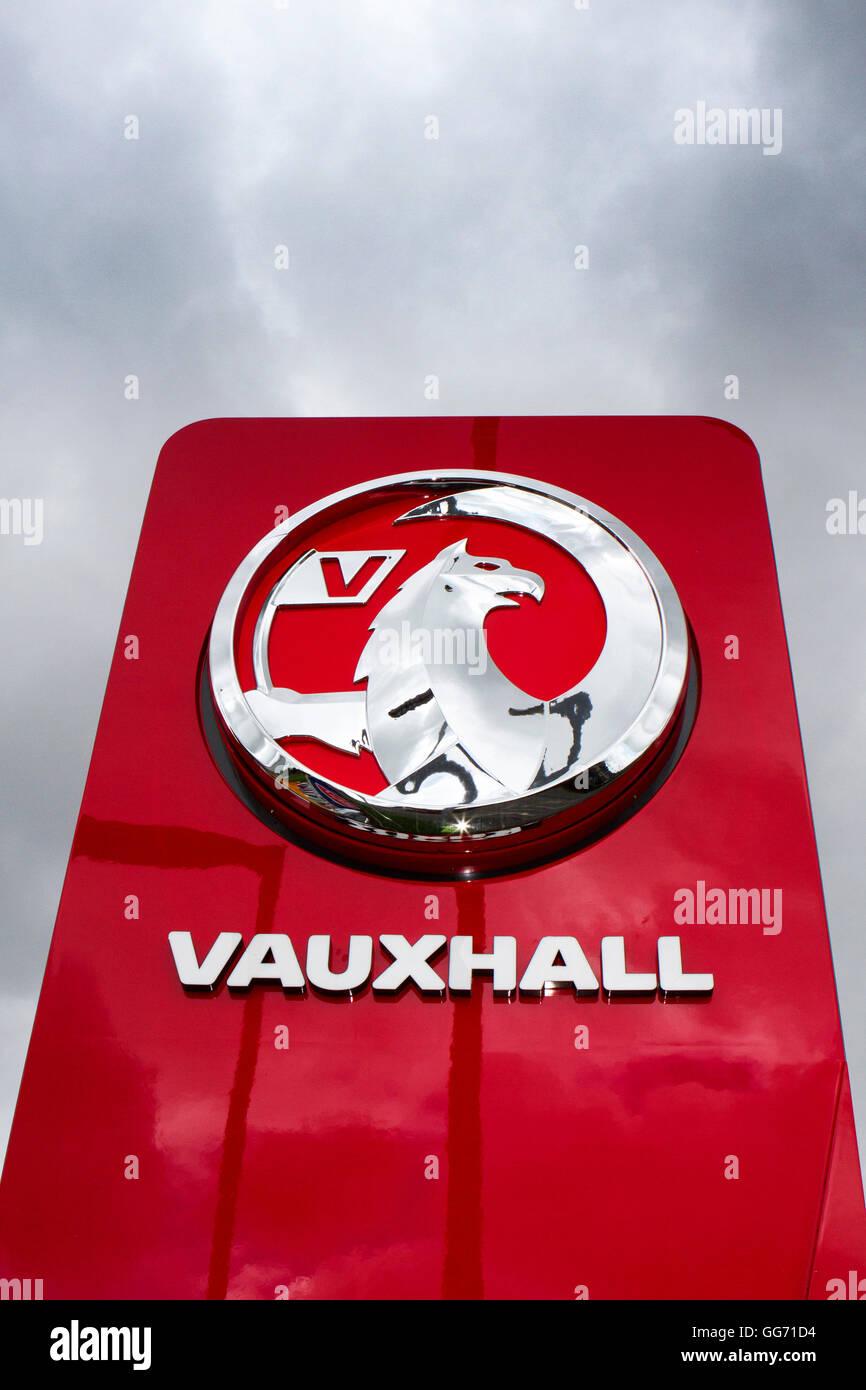 Vauxhall, Chorley, Lancashire, UK - Stock Image