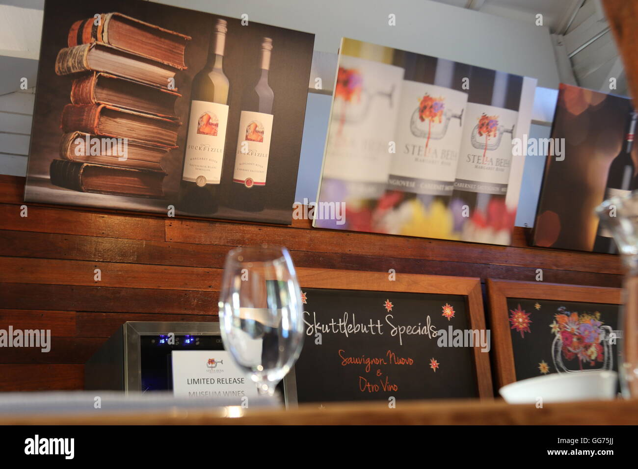 Counter at the cellar door of Stella Bella Wines Margaret River Australia - Stock & Cellar Door Bar Stock Photos \u0026 Cellar Door Bar Stock Images - Alamy