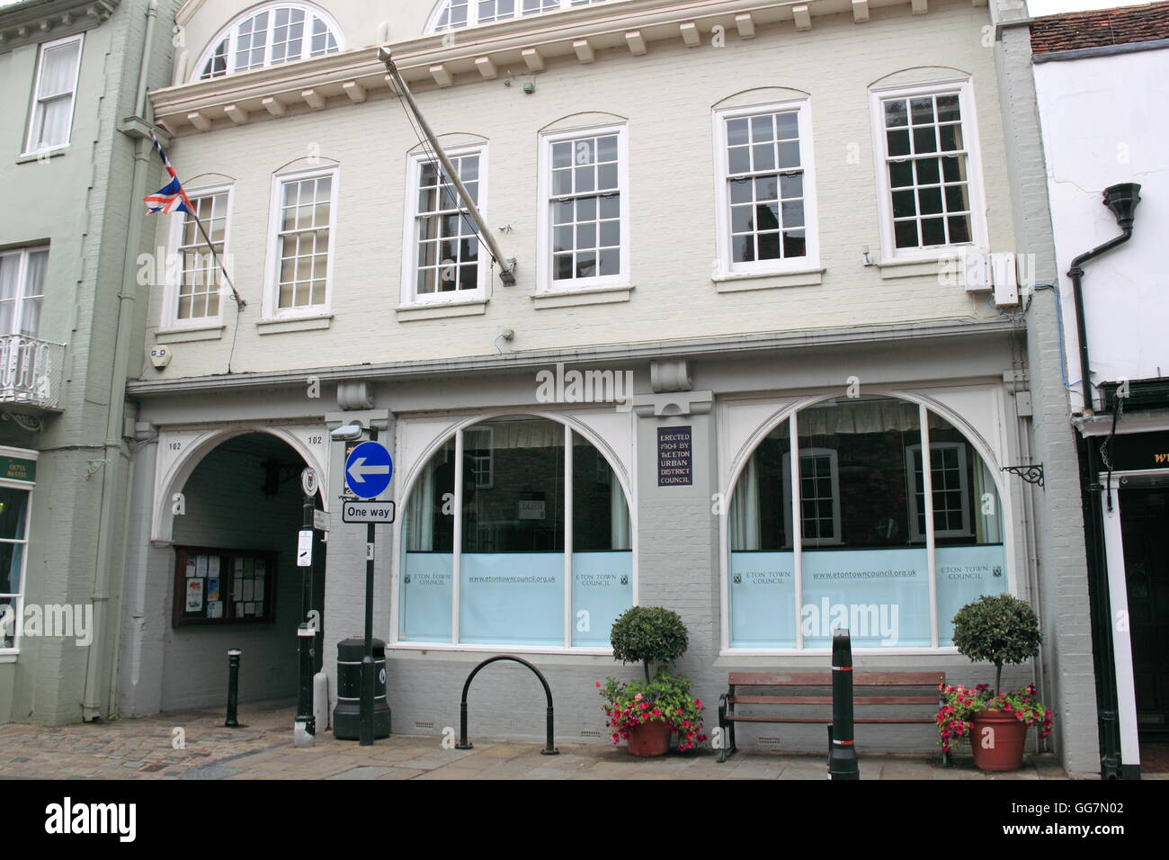 Eton Town Council, High Street, Eton, Berkshire, England, Great Britain, United Kingdom, UK, Europe - Stock Image