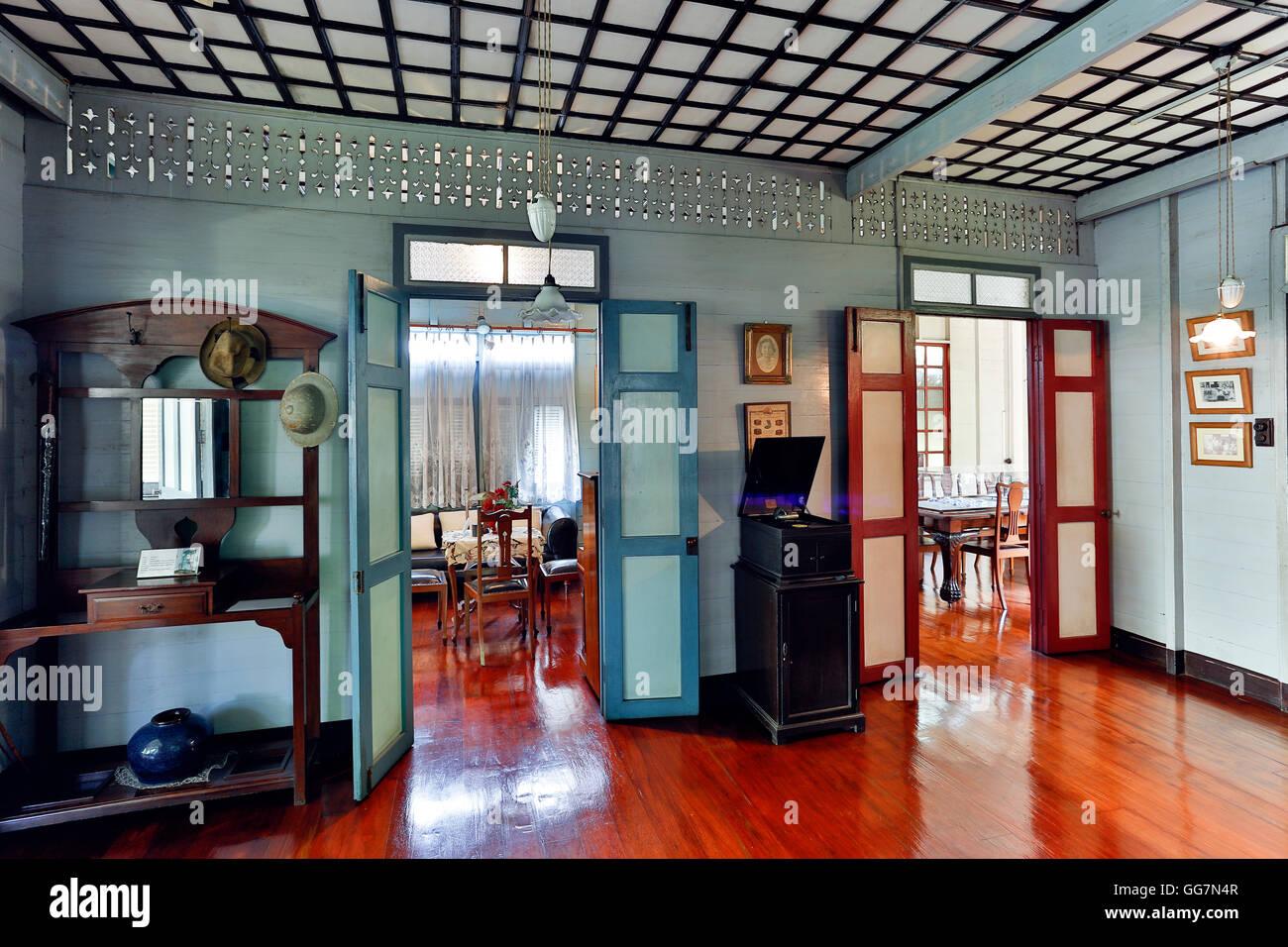 Bangkokian Museum or Bangkok Folk Museum located in Bangrak, Bangkok, Thailand. - Stock Image