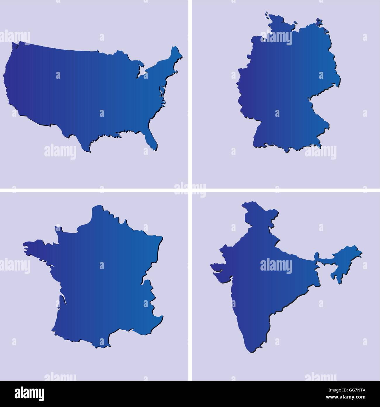Blue maps of usa france germany and india on light blue blue maps of usa france germany and india on light blue backgrounds gumiabroncs Choice Image