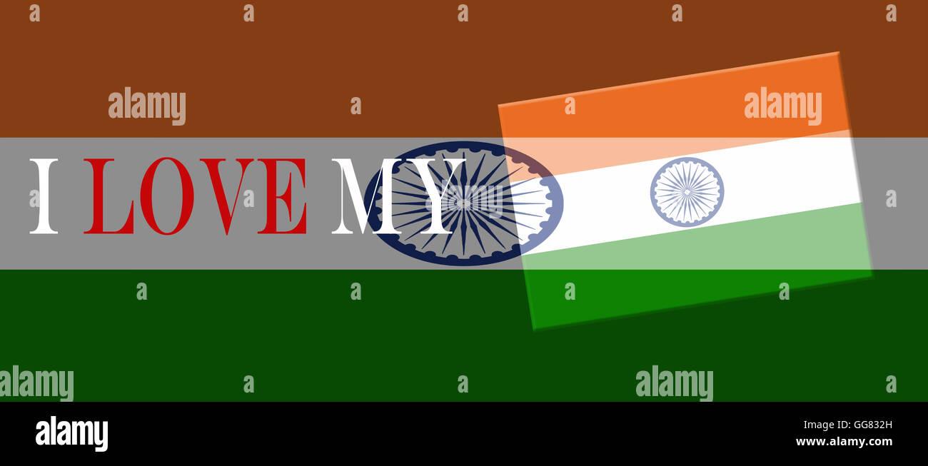 I Love My India Stock Photos & I Love My India Stock Images - Alamy