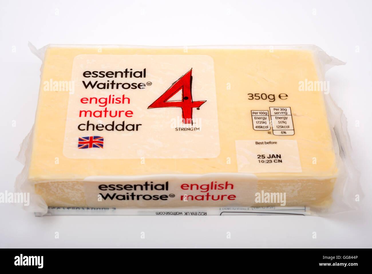 Mature english cheddar