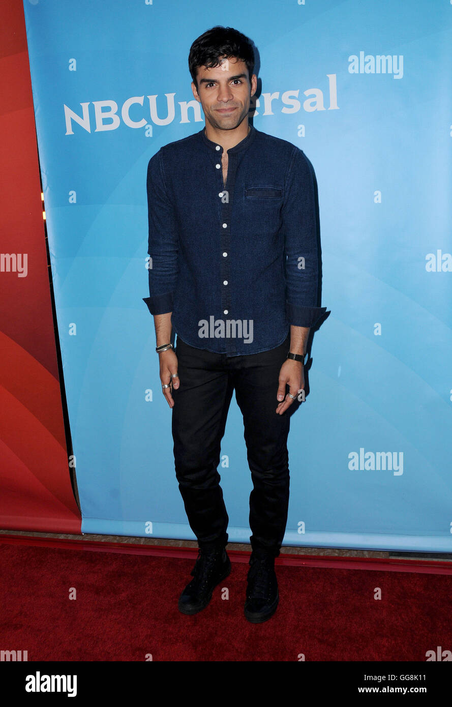 Beverly Hills, CA, USA. 3rd Aug, 2016. 03 August 2016 - Beverly Hills, California. Sean Teale. 2016 NBCUniversal - Stock Image