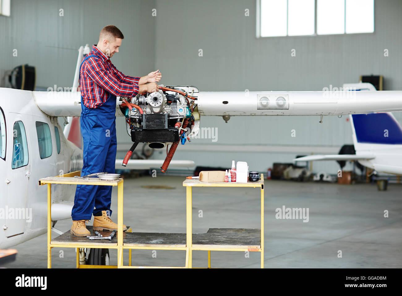 Job of workman - Stock Image