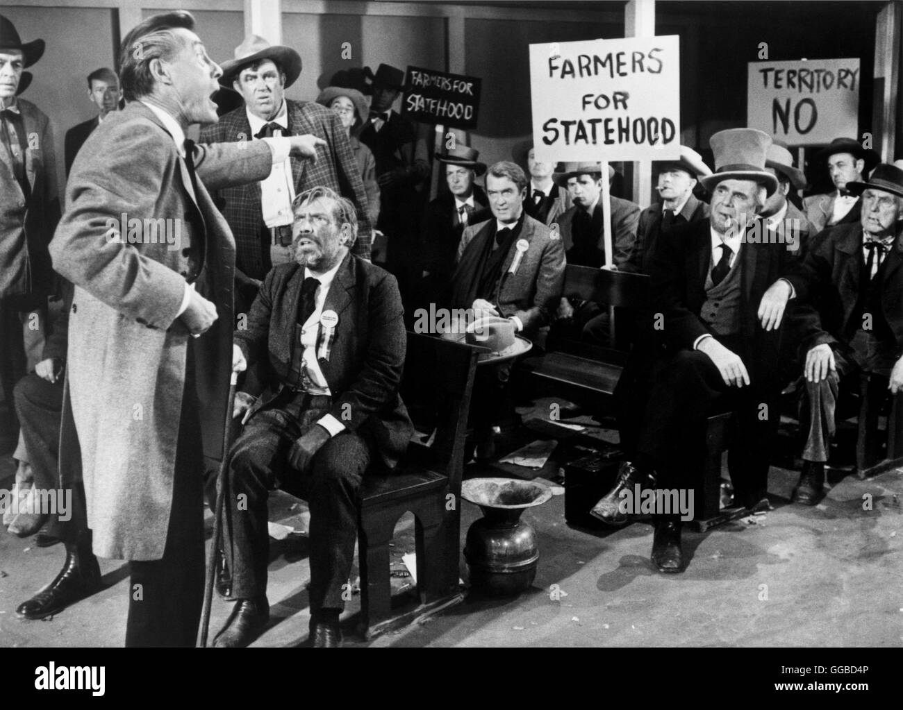an analysis of the man who shot liberty valance by john ford Like pontius pilate, director john ford asks what is truth in the man who shot liberty valance--but unlike pilate, ford waits for an answerthe film opens in 1910, with distinguished and influential us senator ransom stoddard (james stewart) and his wife hallie (vera miles) returning to the dusty little frontier town where they met and married twenty-five years earlier.