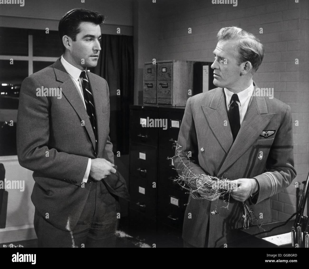 CONE OF SILENCE / UK 1961 / Charles Frend Capt. Hugh Dallas (MICHAEL CRAIG), Capt. Bateson (GORDON JACKSON) Regie: - Stock Image