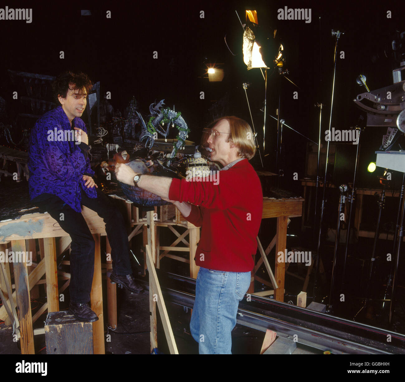 Nightmare before Christmas 3D / Pictured: TIM BURTON and Director ...