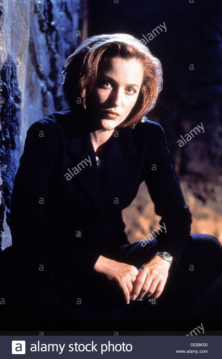 AKTE X - DIE UNHEIMLICHEN FÄLLE / (The X-Files) USA 1999 / Dana Scully (GILLIAN ANDERSON) aka. The X-Files - Stock Image