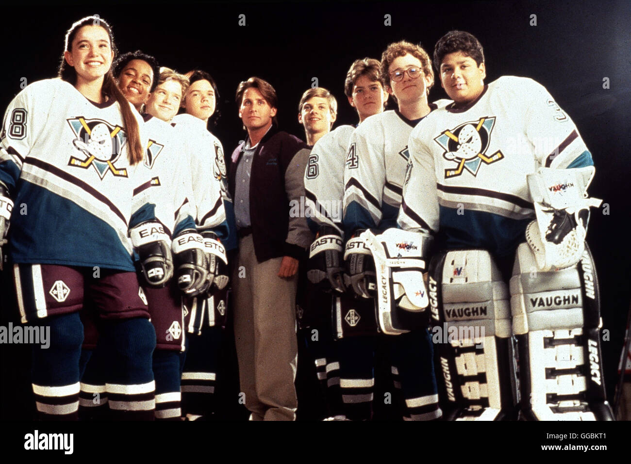 MIGHTY DUCKS II - DAS SUPERTEAM KEHRT ZURÜCK / D2 - The Mighty Ducks USA 1994 / Sam Weisman Die Karriere des - Stock Image