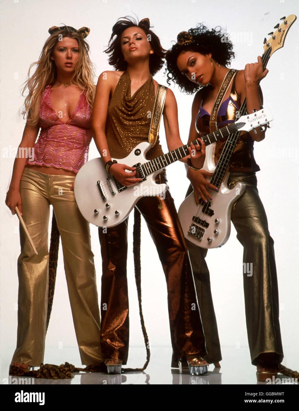 JOSIE PUSSYCATS / Josie Pussycats USA 2000 / Deborah Kaplan/Harry Elfont Die besten Freundinnen Melodie (TARA REID), - Stock Image