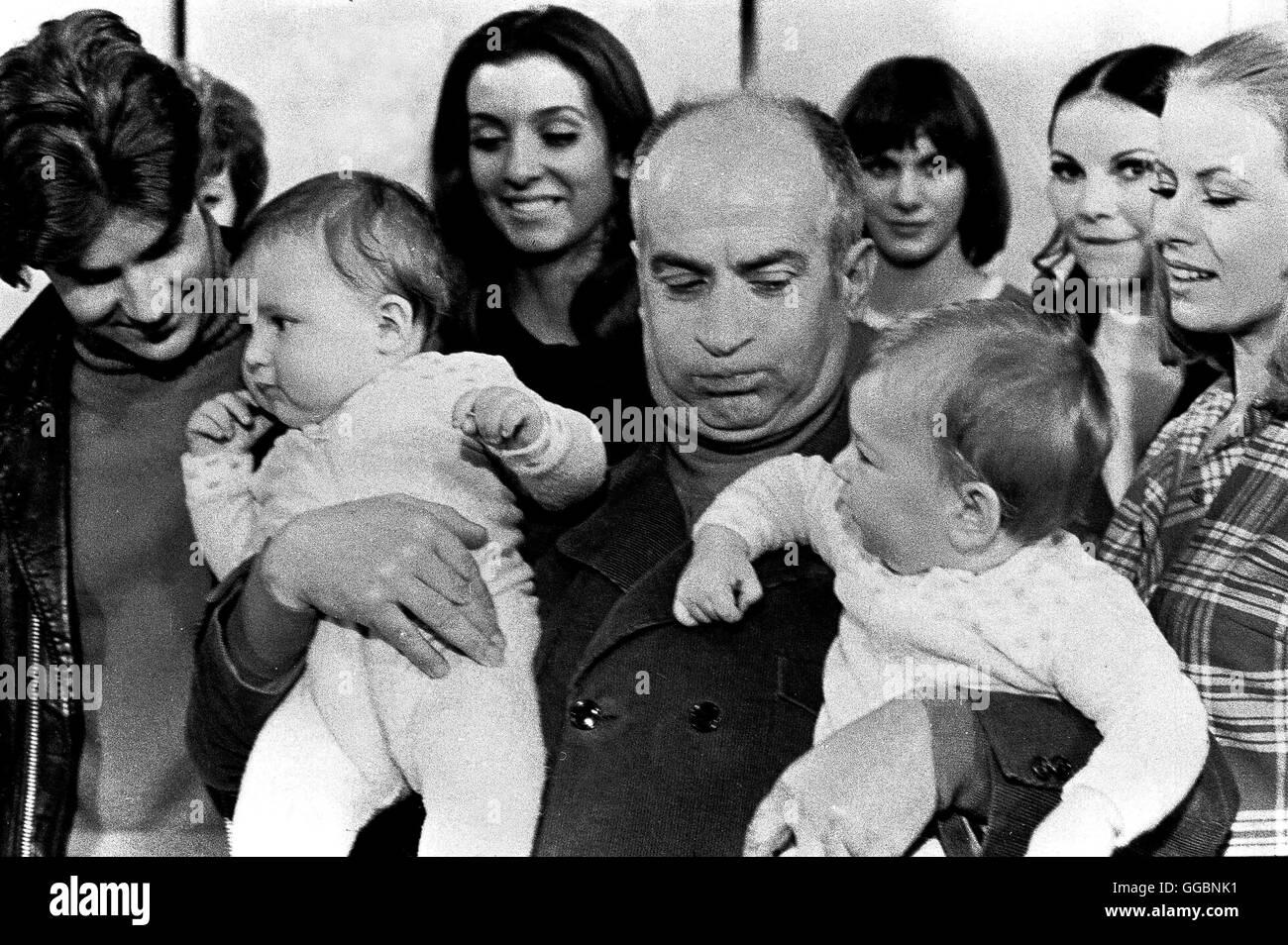 ALLES TANZT NACH MEINER PFEIFE / L'Homme Orchestre Frankreich/Italien 1969 / Serge Korber Varietemanager Evan Evans Stock Photo