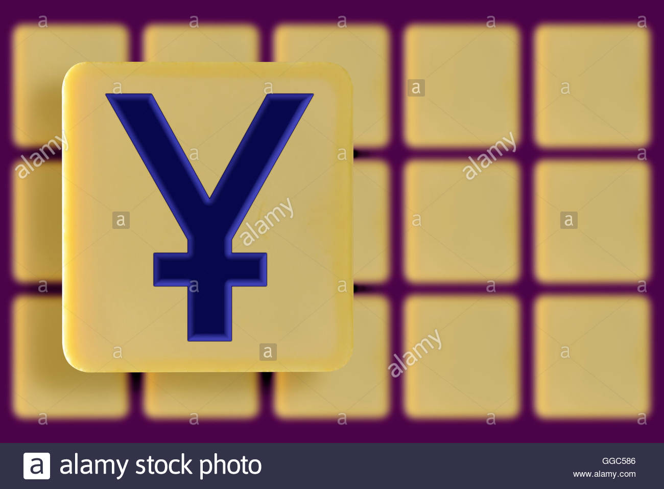 Currency Symbol Yen Yuan Alphabet Stock Photos Currency Symbol Yen