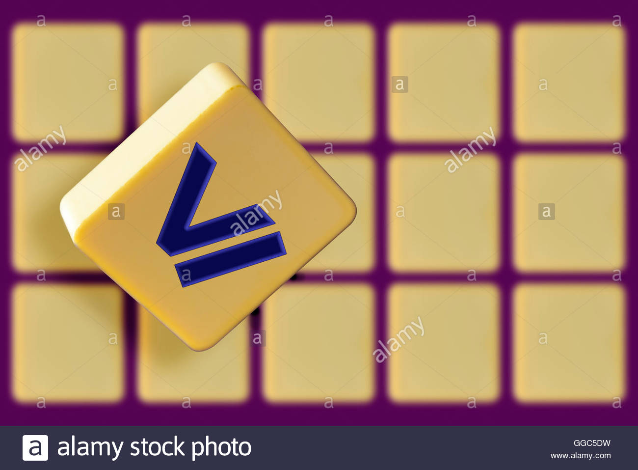 Greater Than Less Than Symbols On Alphabet Stock Photos Greater