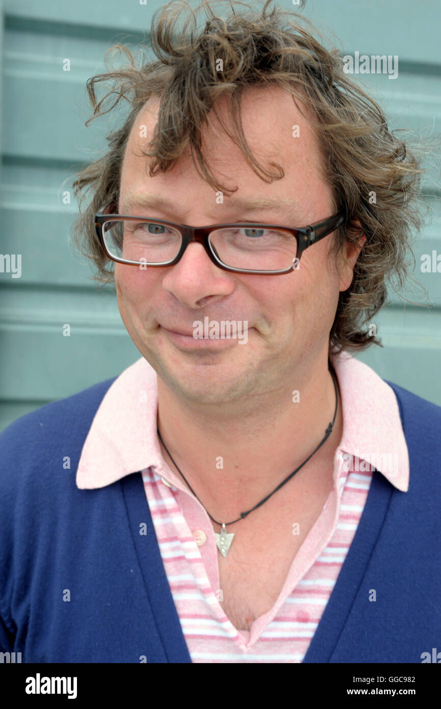 Hugh Fearnley-Whittingstall photographed at Taste of London Food and Drink Festival at Regents Park in London 2010 - Stock Image