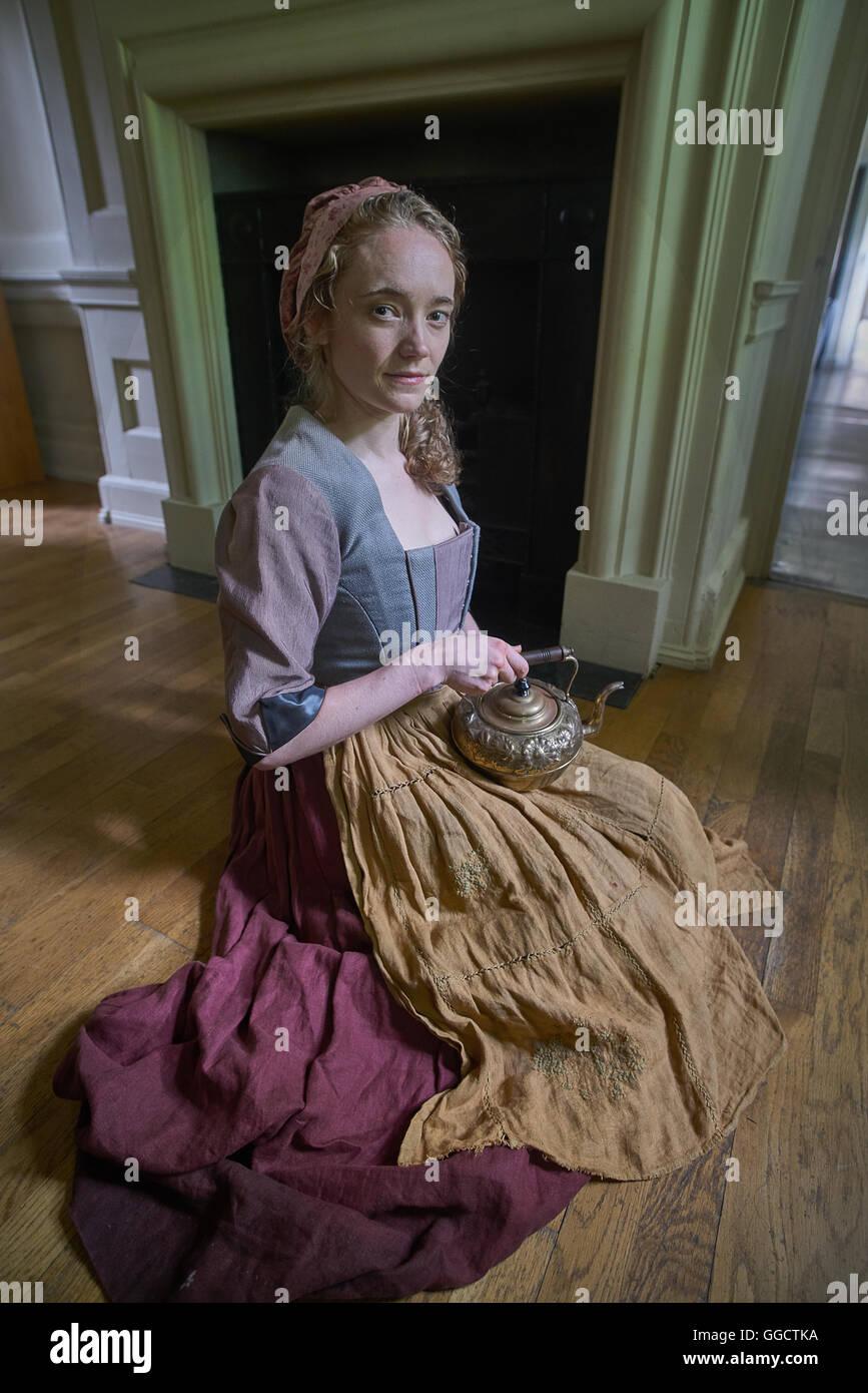 Mature maid servant