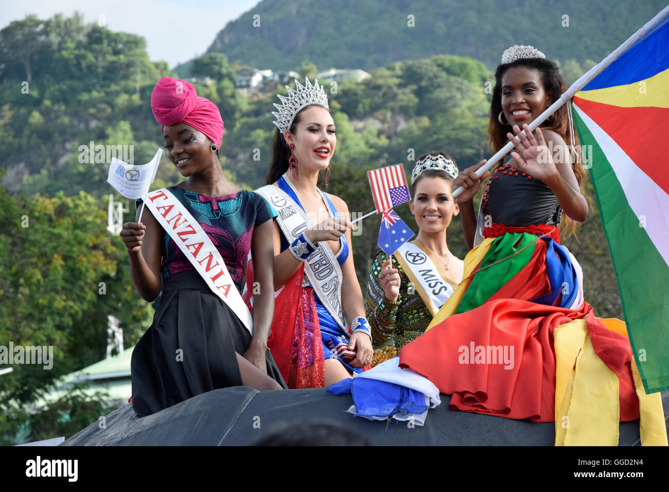 Seychelles People City Stock Photos Seychelles People City