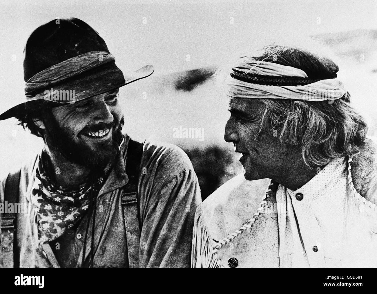DUELL AM MISSOURI / THE MISSOURI BREAKS USA 1975 / Arthur Penn MARLON BRANDO Regie: Arthur Penn aka. THE MISSOURI - Stock Image