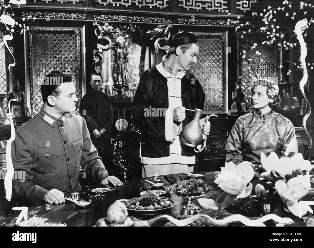 DIE HERBERGE ZUR 6. GLÜCKSELIGKEIT / The Inn of the Sixth Happiness USA 1958 / Mark Robson Szene mit CURD JÜRGENS Stock Photo