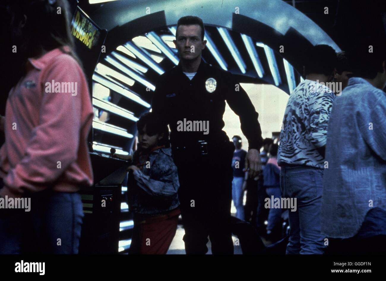 TERMINATOR II - TAG DER ABRECHNUNG / Terminator II - Judgement Day USA 1991 / James Cameron Szene mit ROBERT PATRICK - Stock Image