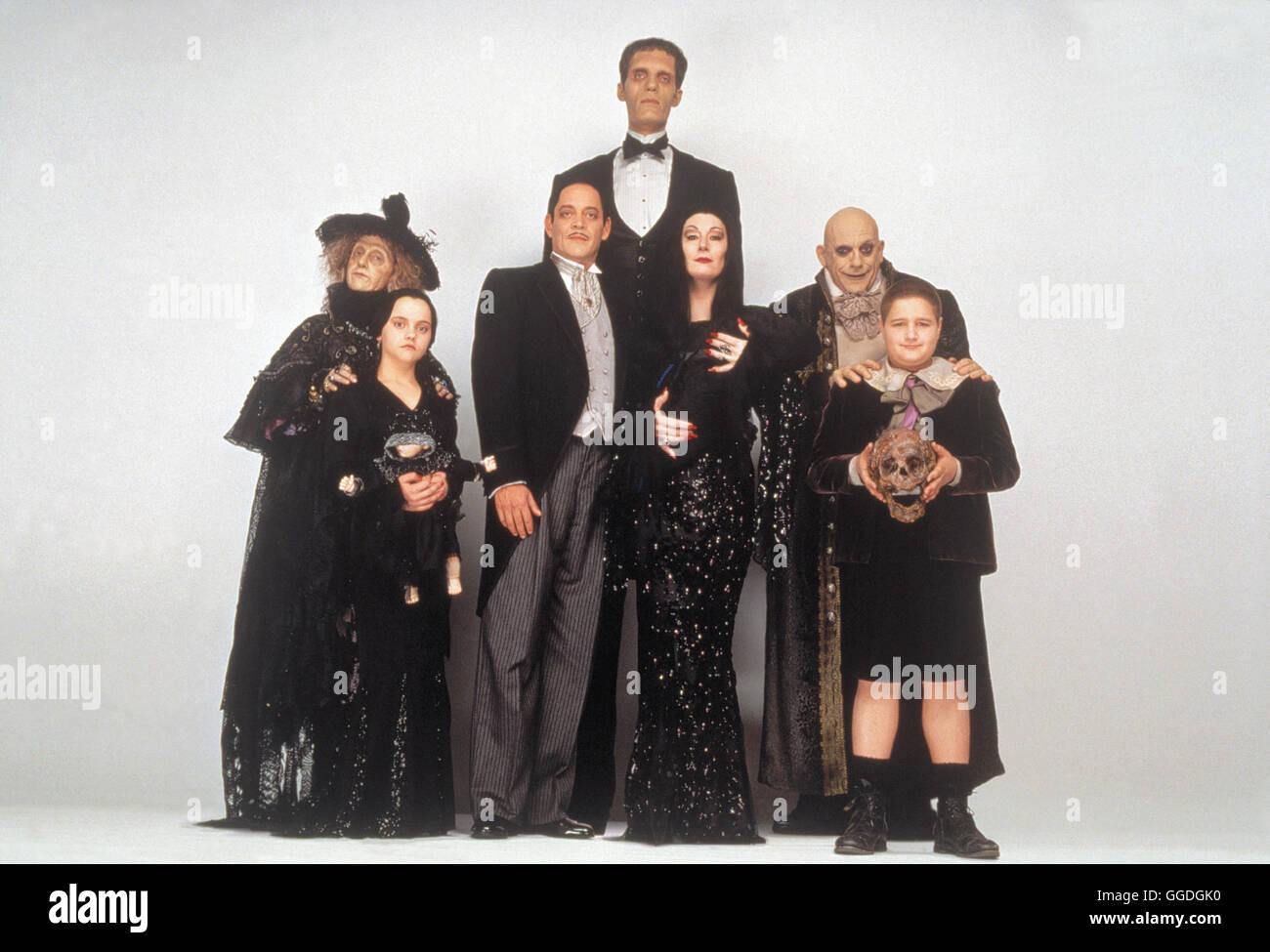 Addams Family Values Morticia Stock Photos Addams Family Values