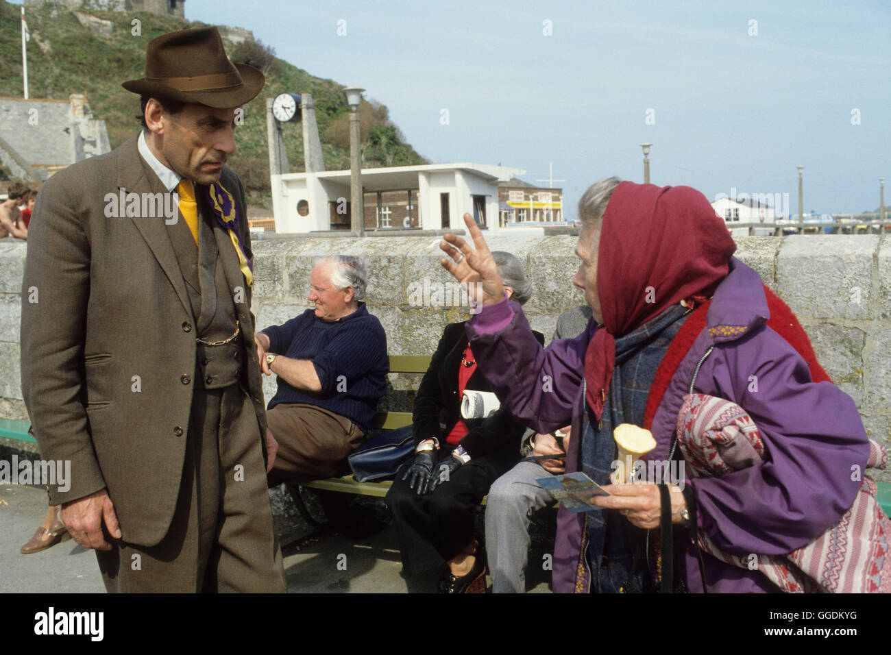 Jeremy Thorpe MP 1979 Devon UK HOMER SYKES - Stock Image