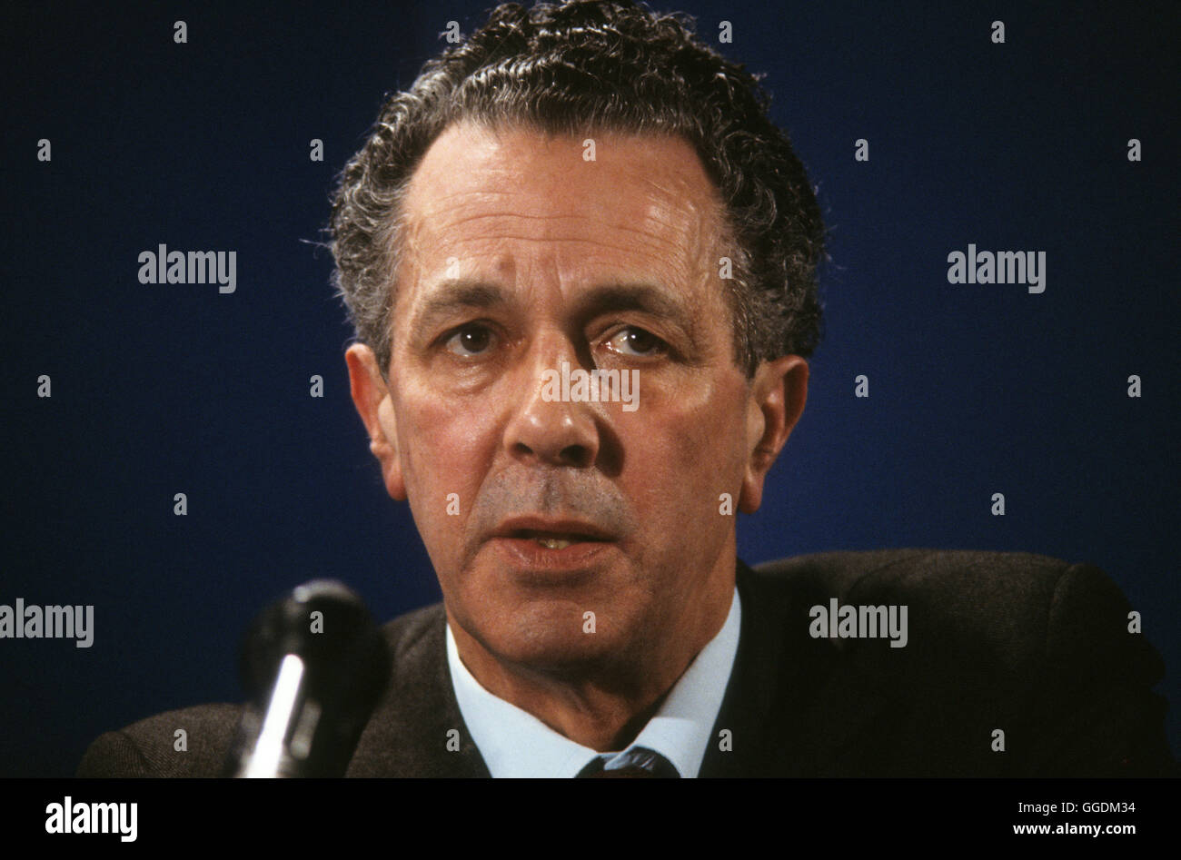 Sir Keith Joseph 1980 Conservative Party political conference London UK HOMER SYKES - Stock Image