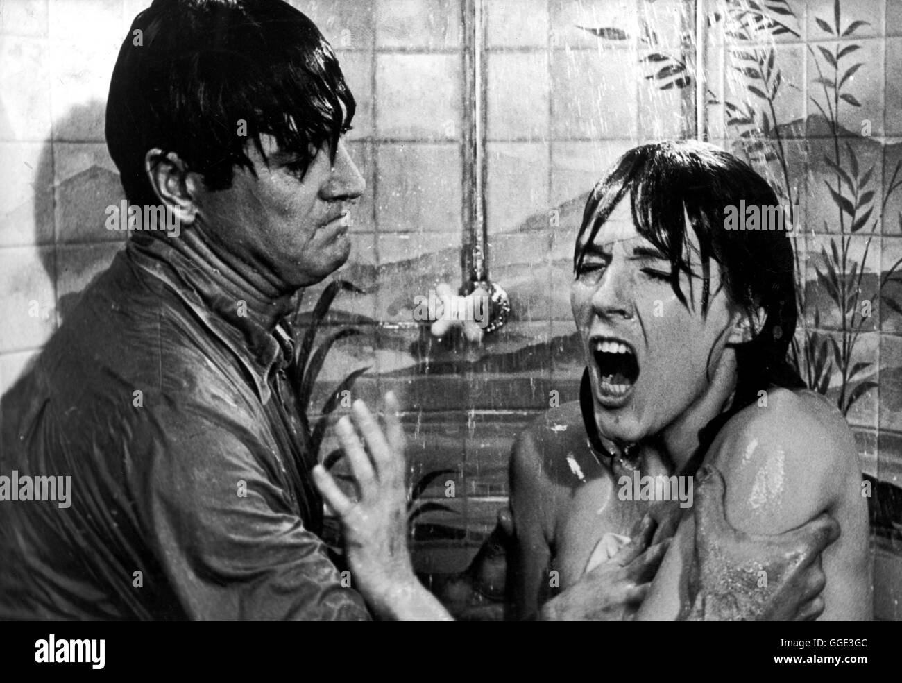 DARLING LILI / Darling Lili USA 1969 / Blake Edwards ROCK HUDSON (Major Larrabee) und JULIE ANDREWS (Lili Smith) - Stock Image