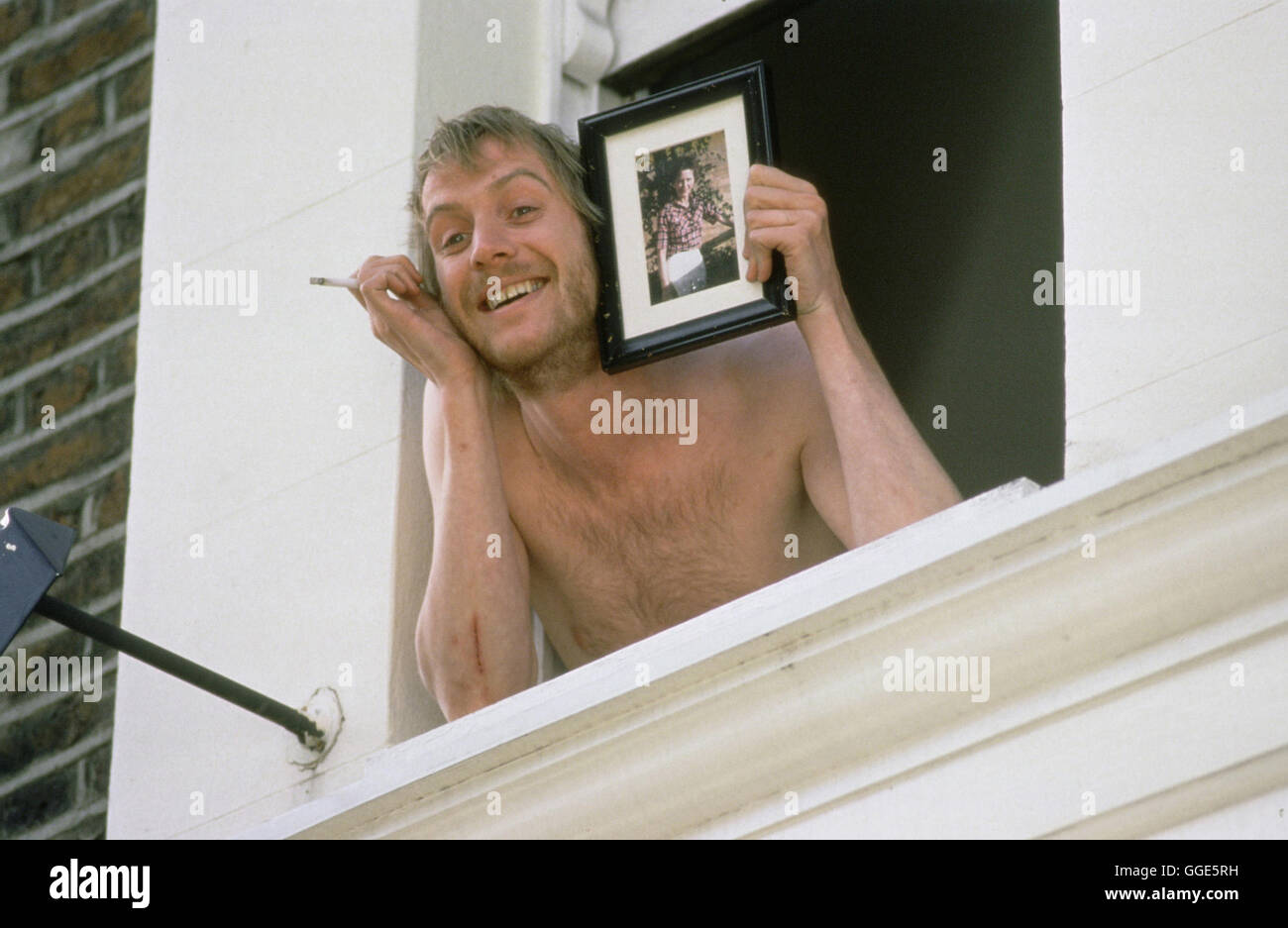 NOTTING HILL / Notting Hill England 1999 / Roger Michell RHYS IFANS als Spike, in der Film-Romanze 'Notting - Stock Image