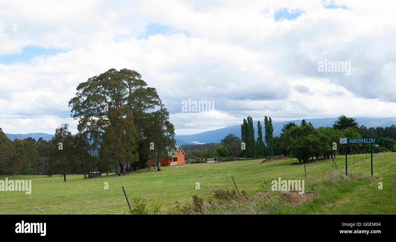Aberfeldy, Mount Lookout, Victoria, Australia - Stock Image