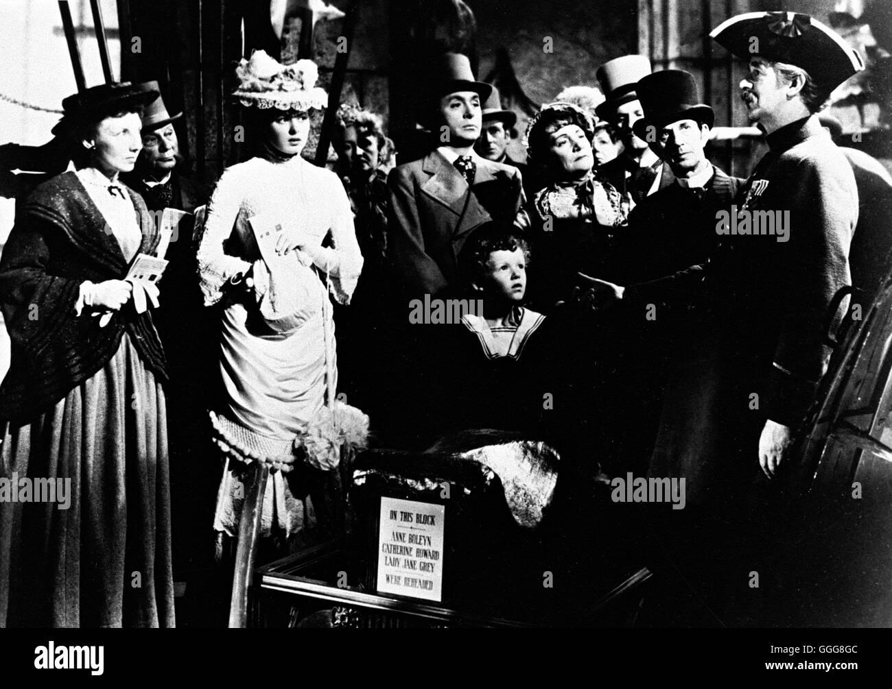 DAS HAUS DER LADY ALQUIST / Gaslight USA 1944 / George Cukor Filmszene, 'Gaslight', 1944. Regie: George Cukor aka. Gaslight Stock Photo